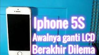 Servis  HP Iphone 5S Bikin pusing 100% #Dilema Tuser