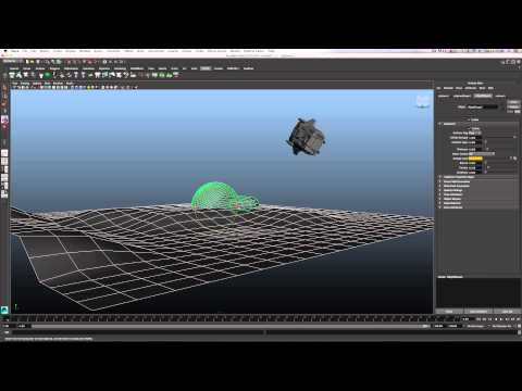 Maya Sci-fi Ship Crash Tutorial