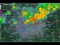 June 30, 2018 Des Moines Epic Flash Flood Event Radar Loop