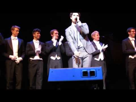 Darren Criss - Teenage Dream, Rainbow Connection, and the Whiffenpoof Alumni Song