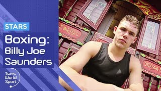 Billy Joe Saunders as a Teenager | British Boxing Star | Trans World Sport