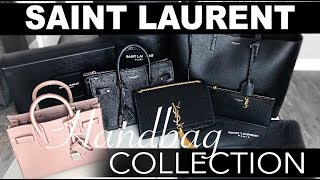 SAINT LAURENT HAND BAG COLLECTION | YSL Sac De Jour Bags | Review + Comparisons