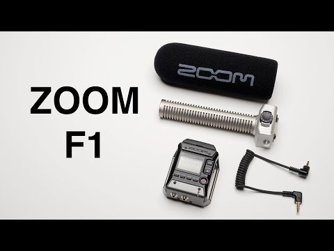 Zoom F1 Audio Field Recorder
