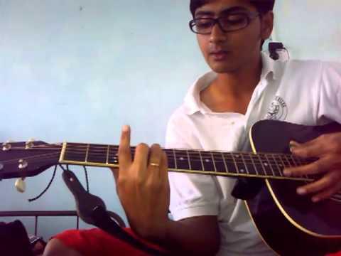 Allah ke bande hasde Guitar lesson by Mykee