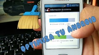2 Aplicaciones para optimizar tu Android || Samsung Galaxy Pocket neo 2014