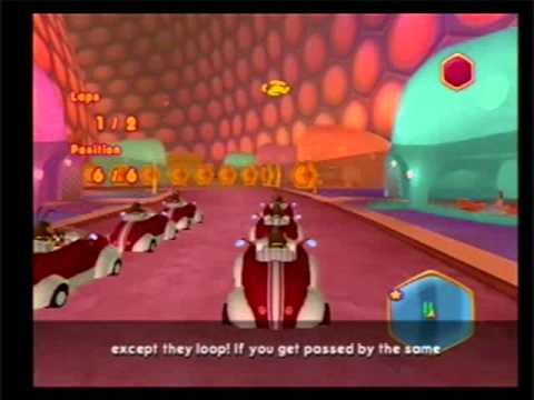 Bee Movie Game walkthrough part 8: Racing (2/3)