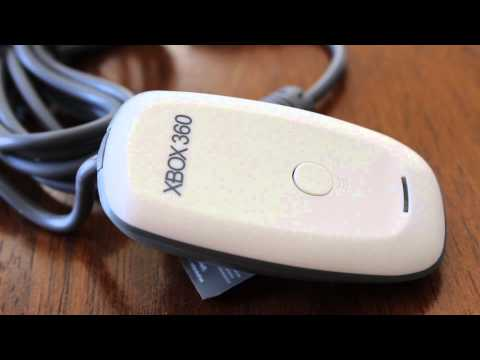 Xbox 360 PC Wireless Gaming Receiver Review & Unboxing