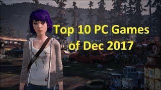 Top 10 PC Games of Dec 2017 With Gameplay and Release Date