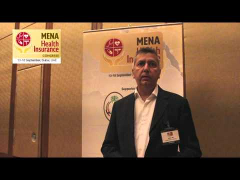 Robin Ali , Dubai Health Authority at MENA Health Insurance Congress
