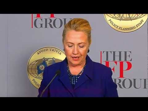 Secretary Clinton Delivers Remarks at the