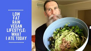 Low Fat Raw Vegan Lifestyle: What I Ate Today
