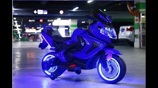Mykidsvn.com Hướng dẫn lắp ráp xe máy điện trẻ em HT3688 (Kiểu dáng xe mô tô đua)