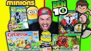 Download Lagu ABRINDO BRINQUEDOS DO BEN 10 E MINIONS !! Gratis STAFABAND