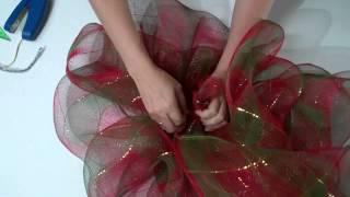 Moos navideos con flores en cintas de organza. Ответы к 100к1 ...