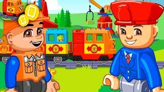 Lego Duplo Train | Train Toy Trains For Kids LEGO Duplo Train For Kids Train Cartoons For Kids