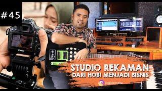 21 STUDIO  Bermula dari hobi, studio ini sukses dalam bisnis  recording  LAGU MINANG