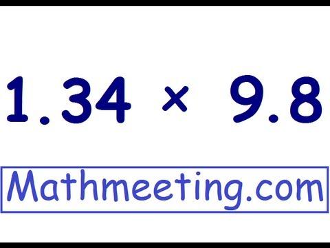 Multiplying Decimals Problems | New Calendar Template Site