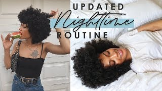 Updated Natural Hair Nighttime Routine + LIFE UPDATE Quitting My Job, Being in Sephora