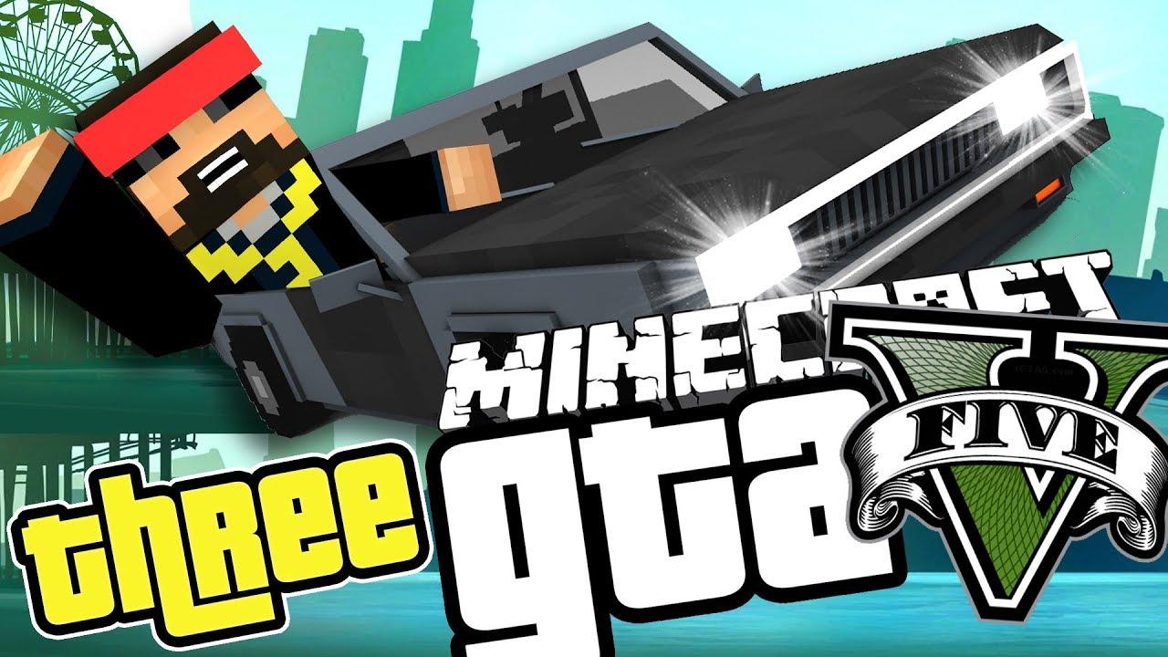 Minecraft GTAV: WE RIDIN' DIRTY!! [3]