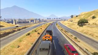 GTA V Pack man mission no map or hud part 1 of 2