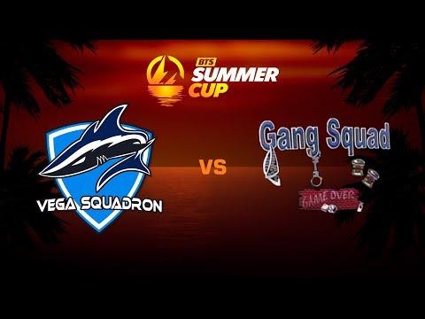 Vega Squadron против Gang Squad, Вторая карта, BTS Summer Cup