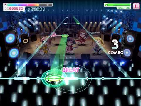 BanG Dream! - Girl's Band Party : Hey-day Capriccio [Expert]