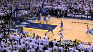 NBA Playoffs 2011: OKC Thunder Vs Memphis Grizzlies Game 4 Triple OT Highlights (2-2)