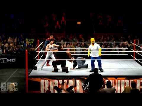 Wwe 2k14 Royal Rumble Sims - 40-man Fantasy Royal Rumble Match video