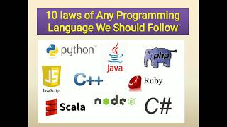 Top 10 Laws of Programming Language we Should know