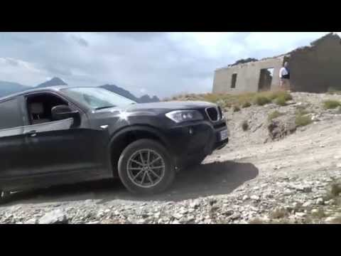 BMW X3 Offroad Westalpen