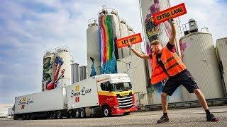 Kilometers vreten met de Scania LZV en een dubbele onthulling, schitterønt!