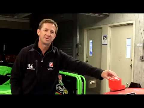 IZOD IndyCar Series car tour by John Andretti Video