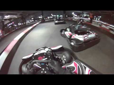 Karting at Teamsport Docklands