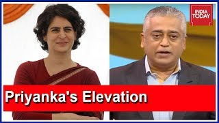 Priyanka Gandhi's Elevation In Congress | Mood Of The Nation With Rajdeep