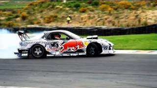 Mad Mike - Madbull 4Rotor RX7 Wins NAC NZ Drift Nationals 2011