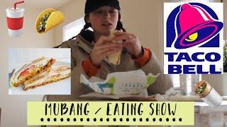 TACO BELL MUKBANG / Eating Show / Pregnancy | Lauren Russell