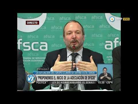 Visión 7 - Sabbatella sobre el Plan de adecuación presentado por Clarín