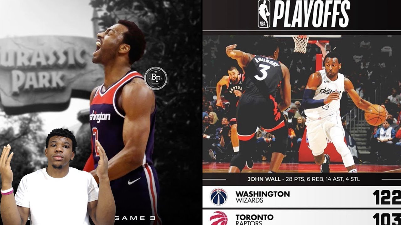 Wizards vs raptors