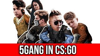 5GANG IN CS:GO !