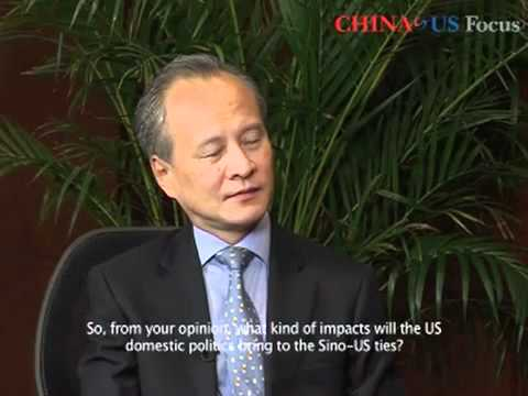 Chinese Vice Foreign Minister  Cui Tiankai China-US Economy