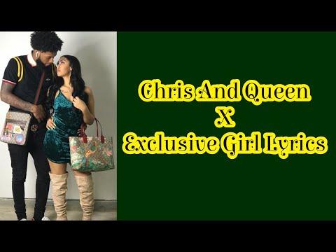 Chris And Queen - Exclusive Girl (Lyrics)