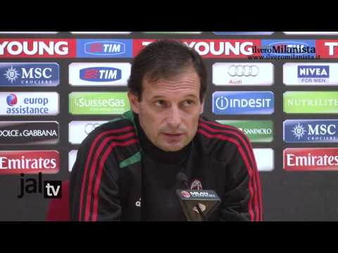 Conferenza stampa Massimiliano Allegri (pre Milan-Inter)