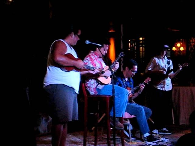 Lanai Ukulele Festival 2011 Jam Session