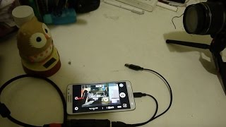 "UVC hdmi capture card work on Andoird with apk ""CameraFi - USB Camera / Webcam"""