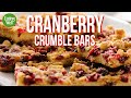 How to Make Cranberry Crumble Bars | EatingWell