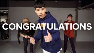 download lagu Congratulations - Post Malone Ft. Quavo / Jinwoo Yoon gratis
