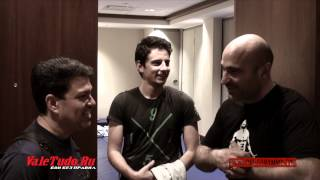 Khabib Nurmagomedov vs Pat Healy. Backstage Pass UFC 165. (Part 2)
