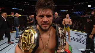 """I am the greatest combat sports athlete ever!"" Henry Cejudo becomes champ champ at UFC 238"
