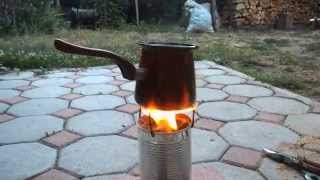 Survival sawdast stove(mini)