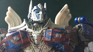 ( Transformers Stopmotion ) Autobots reunite  ( Transformers age of extinction ) 400 sub special)